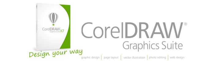 ... you should be working with with latest version Corel Graphics Suite