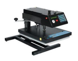 sublimation heat presses - air swinger heat press