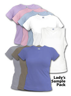 Sublimation Sample Packs - Vapor Ladies Line Sample Pack