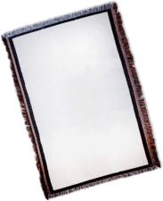 Sublimation Throw - Vapor One Panel Sublimation Throw - White